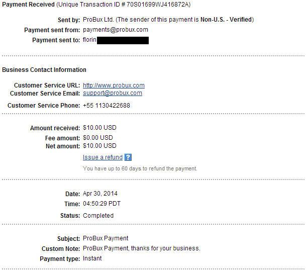Bani online cu Probux!